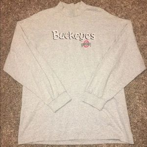 Ohio State University OSU Premium Jersey Mock Neck